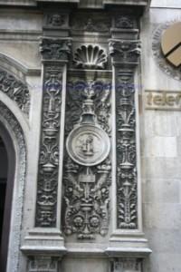 Detail of telecom building