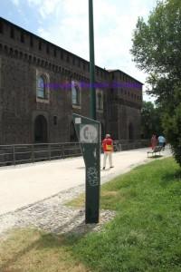 Italy, Milan, Castello Sfotzesco