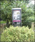 central phone box